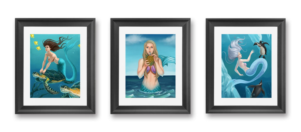 Mermaids in Frames